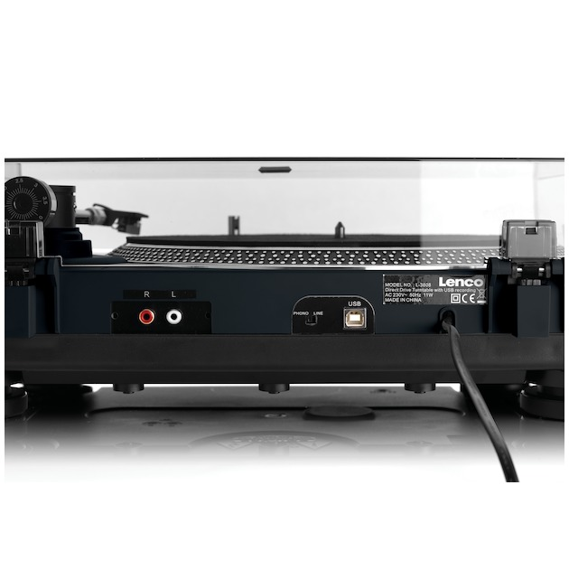 Lenco L-400 zwart