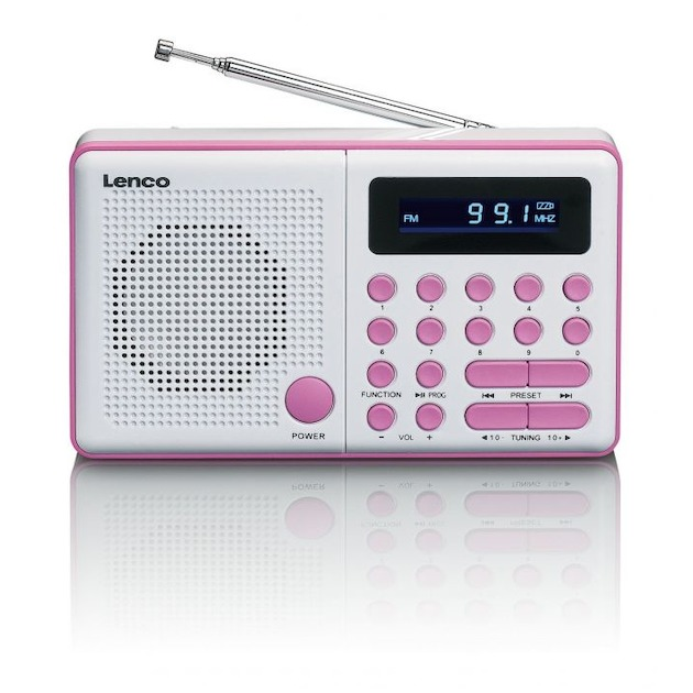 Lenco MPR-034 roze