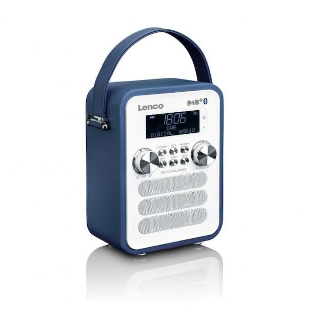 Lenco PDR-050 blauw