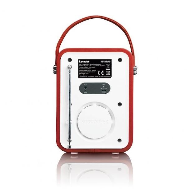 Lenco PDR-050 rood