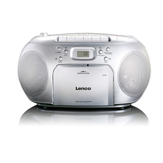 Lenco SCD-420 zilver