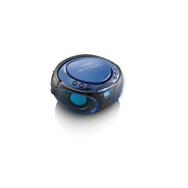 Lenco SCD-550 blauw