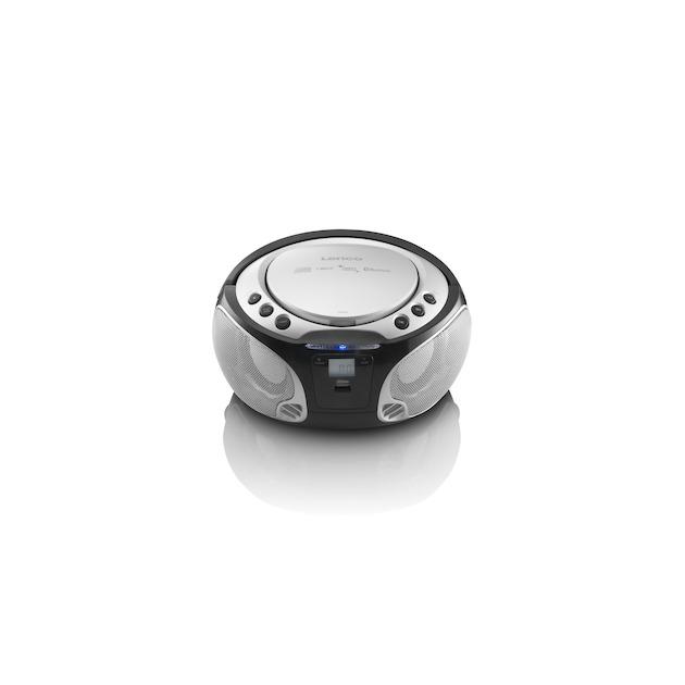 Lenco SCD-550 zilver