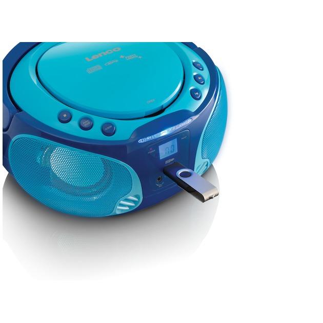 Lenco SCD-650 blauw