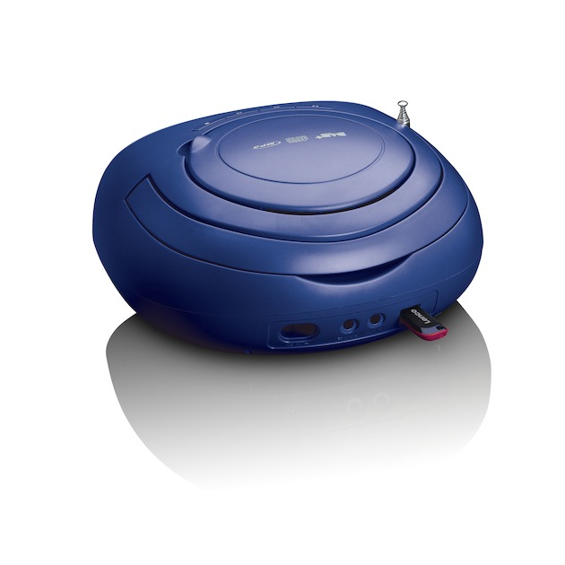 Lenco SCD-69 blauw