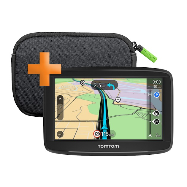 Tomtom Start 52 Europa incl. Case