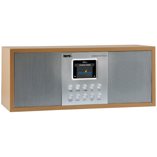 Imperial DABMAN d30 Stereo hout