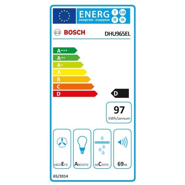 Bosch DHU965EL rvs
