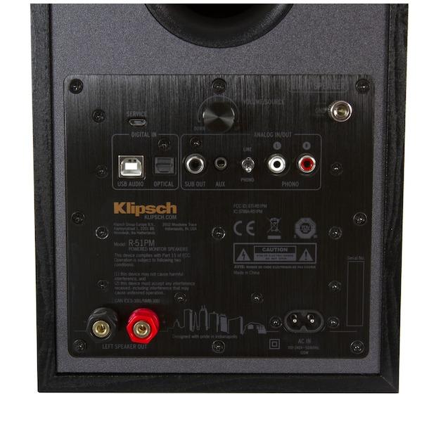 Klipsch R-51PM EUA zwart
