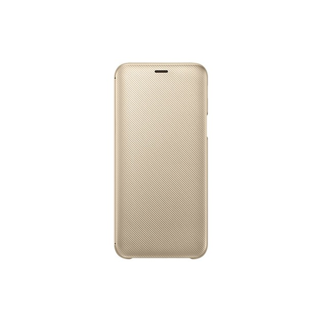 Samsung Wallet Cover voor Galaxy J6 2018 goud