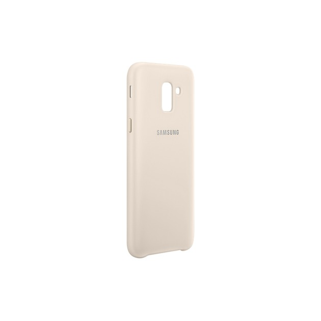 Samsung Dual layer cover voor Galaxy J6 2018 goud