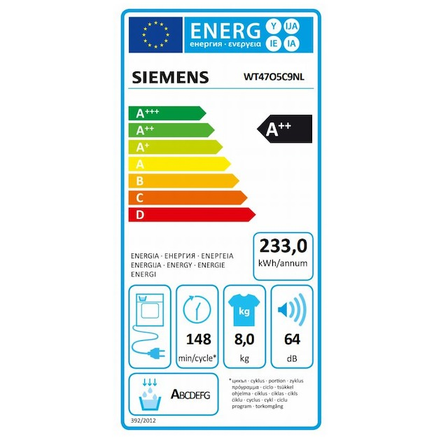 Siemens WT47O5C9NL