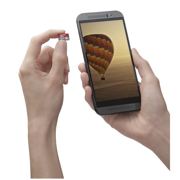 SanDisk MicroSD Class 10 Ultra 64GB