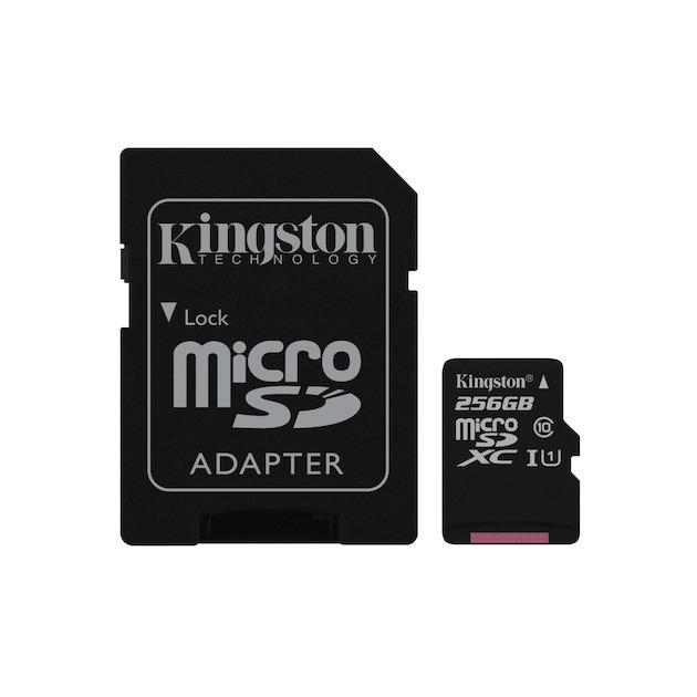 Kingston Canvas Select microSDHC 256GB + SD-adapter