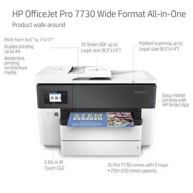 HP Officejet Pro 7730 A3