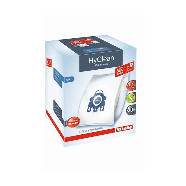 Miele Stofzuigerzak allergy xl pack hyclean 3d + ha50 g-n
