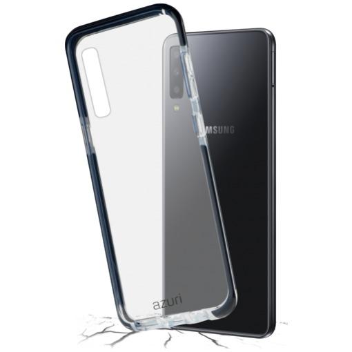 Azuri Flexible bumpercover - voor Samsung A7 (2018) zwart