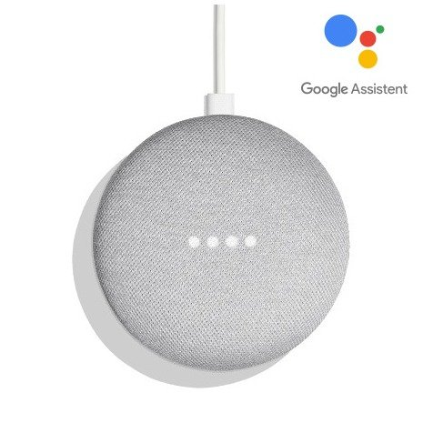 Google Home Mini wit