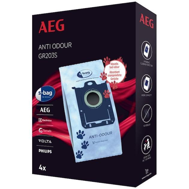 AEG Stofzuigerzak s-bag anti odour airmax, oxygen+, jetmaxx