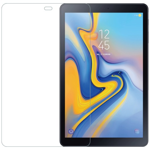 Azuri Screen protector Tempered Glass - voor Samsung  T590 Tab A 10,5 inch transparant