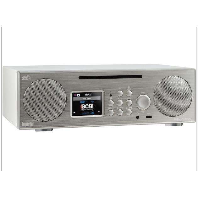 Imperial Dabman i450CD zilver