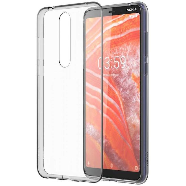 Nokia Back case - voor Nokia 3.1 Plus transparant