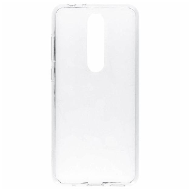 Nokia Back case - voor Nokia 5.1 Plus transparant