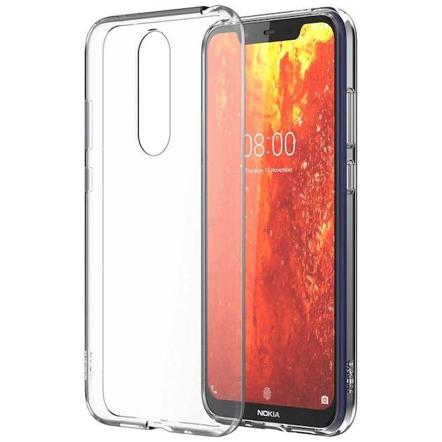 Nokia Back case - voor Nokia 8.1 transparant