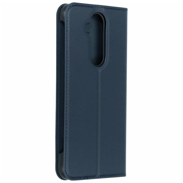 Nokia Slim Flip Case - voor Nokia 8.1 blauw