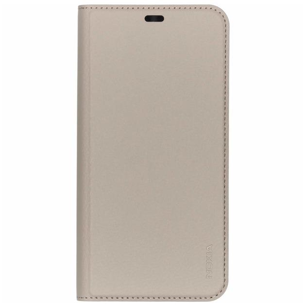 Nokia Slim Flip Case - voor Nokia 8.1 grijs