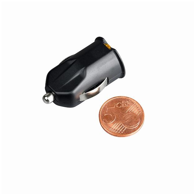 Hama Autolader 12 Volt met 2 USB poorten 2.1 A zwart