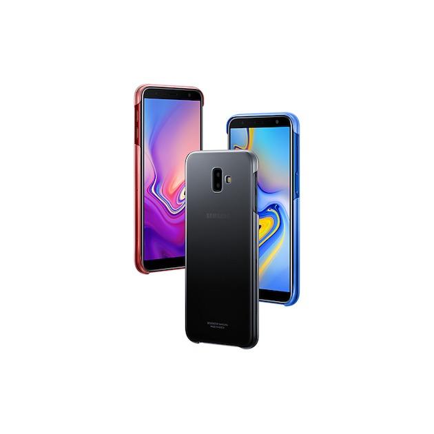 Samsung Jelly Cover voor Galaxy J6 Plus 2018 zwart