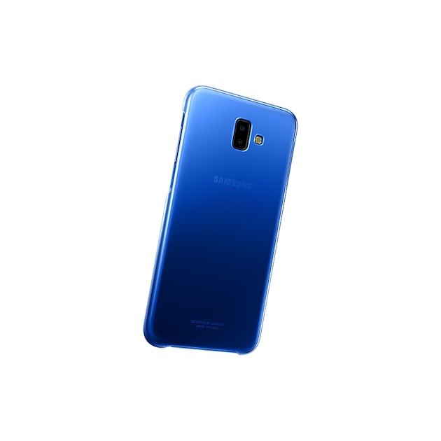 Samsung Jelly Cover voor Galaxy J6 Plus 2018 blauw