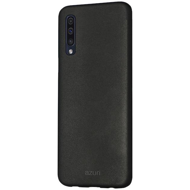 Azuri Back Cover voor Galaxy A50 zwart
