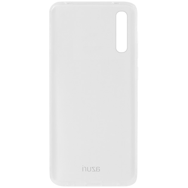 Azuri Back Cover TPU voor Galaxy A50 transparant