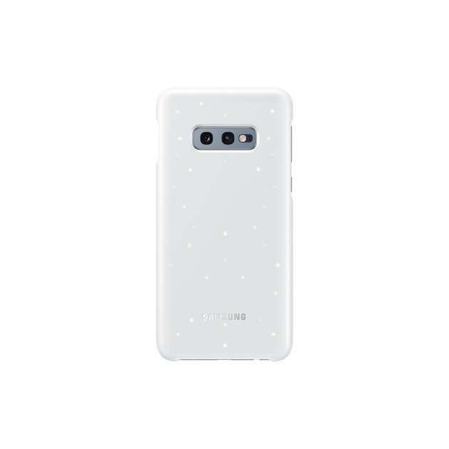 Samsung Back Cover LED voor Galaxy S10e	 wit