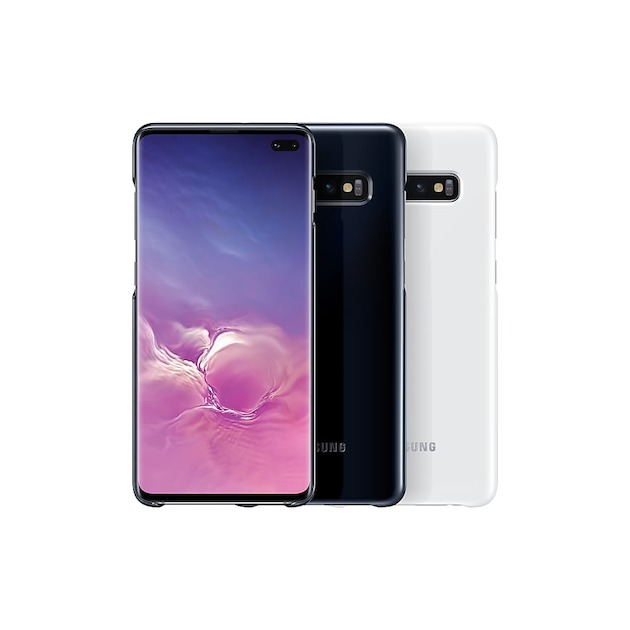 Samsung Back Cover LED voor Galaxy S10 Plus zwart