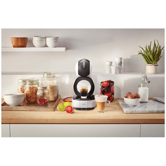 Krups KP1301 Dolce Gusto Lumio wit