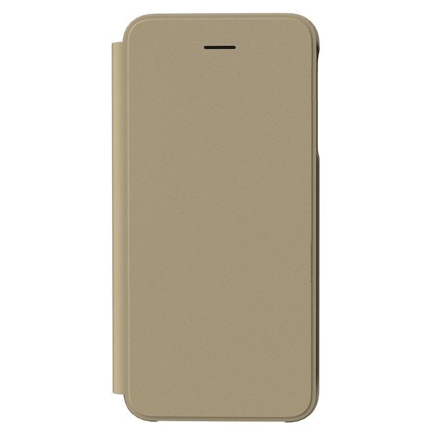 Samsung Flip Wallet voor Galaxy J4 Plus goud