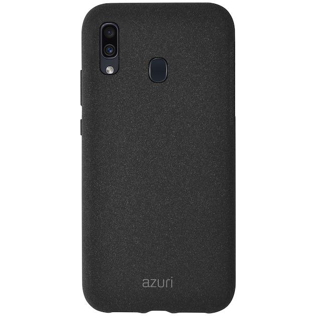 Azuri Back Cover voor Galaxy A20e zwart