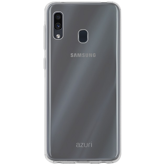 Azuri Back Cover TPU voor Galaxy A20e transparant