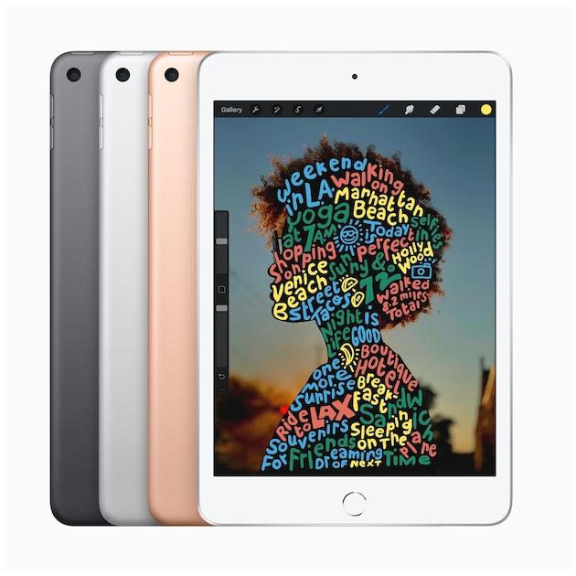 Apple iPad Mini (2019) 64GB WiFi zilver
