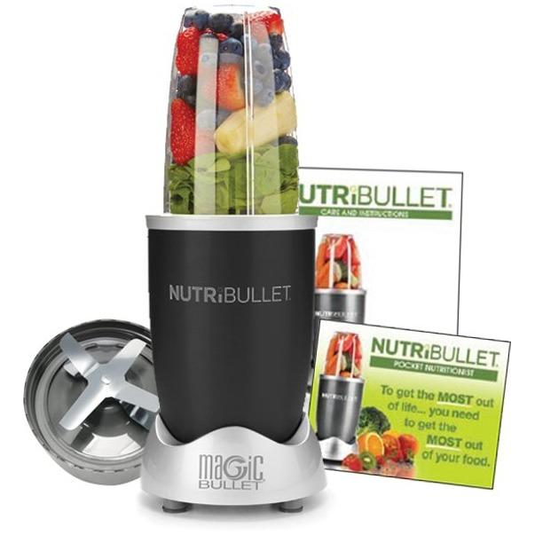 Nutri Bullet Zwart 600W 5-delig