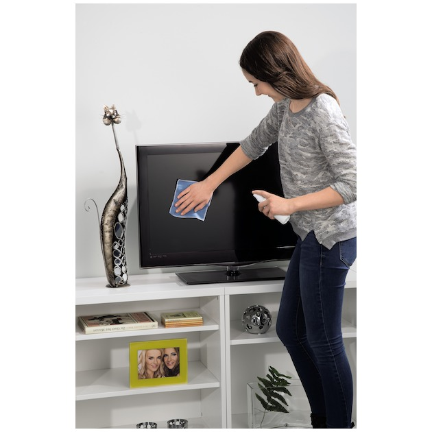 Hama Reinigingsspray voor tv met reinigingsdoek 200 ml