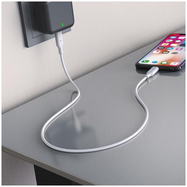 Hama Laadkabel USB-C naar Lightning 1 meter wit