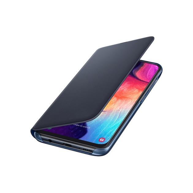 Samsung Wallet Cover voor Galaxy A50 / A30s zwart