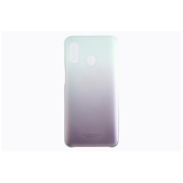 Samsung Gradation Cover voor Galaxy A40 zwart