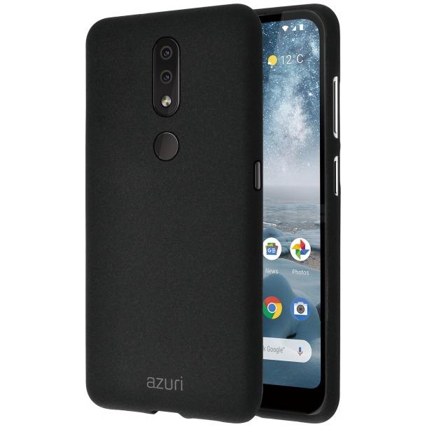 Azuri flexible cover zandtextuur (Nokia 4.2) zwart