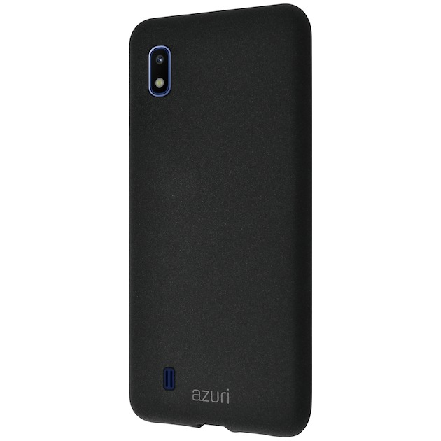 Azuri Back Cover voor Galaxy A10 zwart