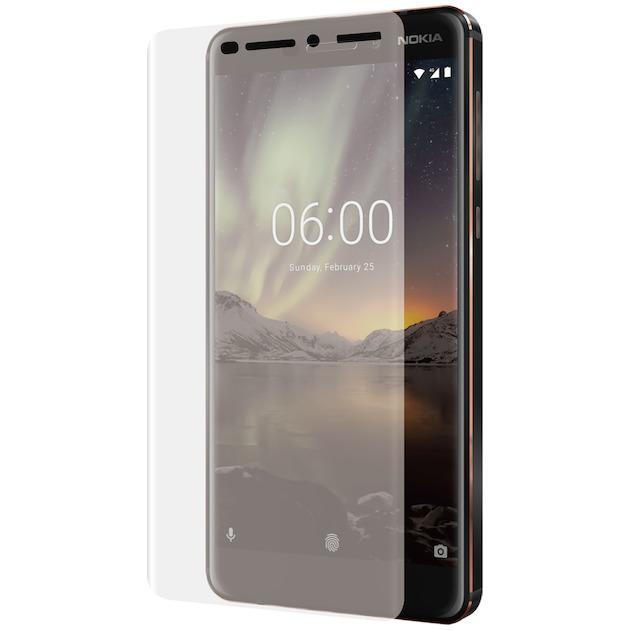 Azuri Tempered Glass flat RINOX ARMOR - voor Nokia 6.2 transparant